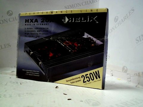 Lot 241 HELIX HXA20X 2-CHANNEL AMPLIFIER