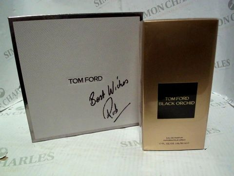 Lot 5023 BRAND NEW AND SEALED TOM FORD BLACK ORCHID EDP 50ML