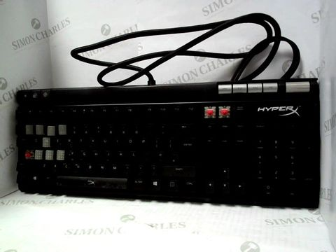 Lot 4 HYPERX HX-KB2RD2-UK/R1 ALLOY ELITE RGB MECHANICAL GAMING KEYBOARD