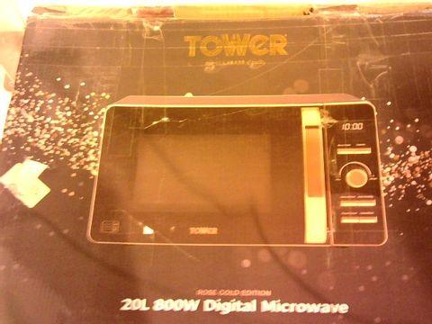 Lot 12118 TOWER 20L 800W DIGITAL MICROWAVE