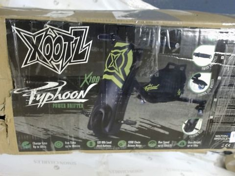 Lot 480 XOOTZ TYPHOON ELECTRIC POWER DRIFT TRIKE
