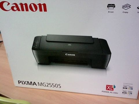 Lot 457 BOXED CANON PIXMA MG2550S PRINTER RRP £59.99