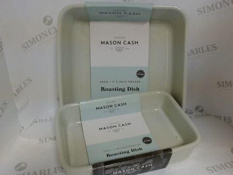 Lot 17132 NEW MASON CASH ROASTING DISHES X 2