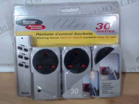 Lot 2022 BYRON REMOTE CONTROL SOCKETS - 30M
