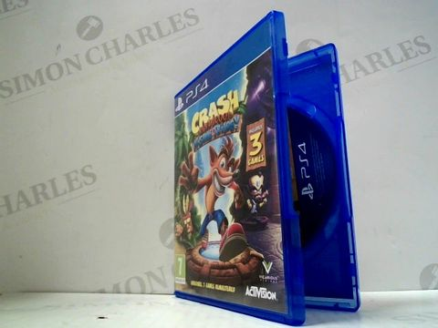Lot 3033 CRASH BANDICOOT N'SANE TRILOGY PLAYSTATION 4 GAME