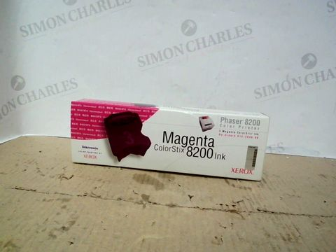 Lot 58 LOT OF APPROXIMATELY 22 BRAND NEW XEROX MAGENTA COLORSTIX 8200 INK