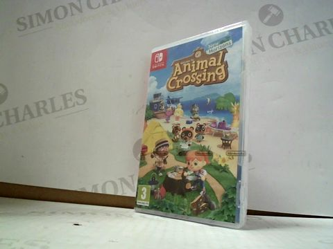 Lot 3006 ANIMAL CROSSINGS: NEW HORIZONS NINTENDO SWITCH GAME