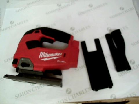 Lot 7458 MILWAUKEE FUEL TOP HANDLE JIGSAW 18V BARE UNIT, RED, LARGE