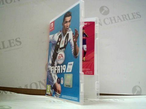Lot 8156 FIFA 19 NINTENDO SWITCH GAME