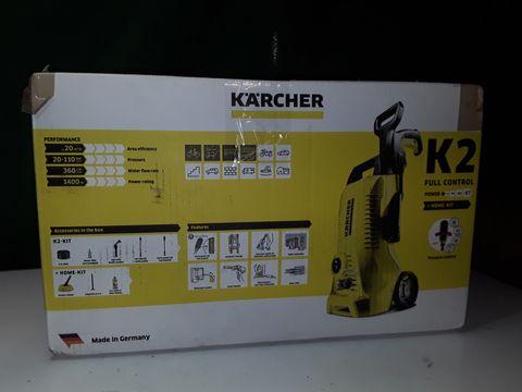 Lot 275 KARCHER K2 FULL CONTROL PRESSURE WASHER