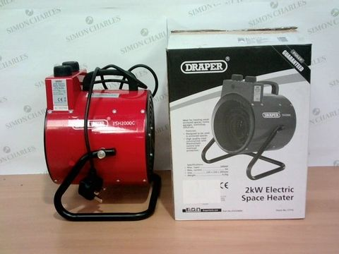 Lot 1517 DRAPER 17775 2KW ELECTRIC SPACE HEATER