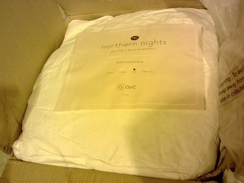 Lot 15321 PUR FEATHER BY NORTHERN NIGHTS EXTRA DEEP FEATHERBED KING SIZE