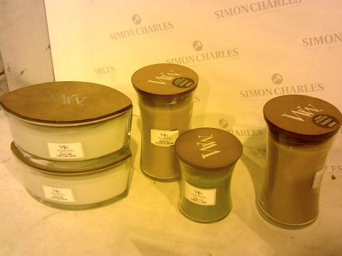 Lot 2203 SET OF 5 WOODWICK CANDLES