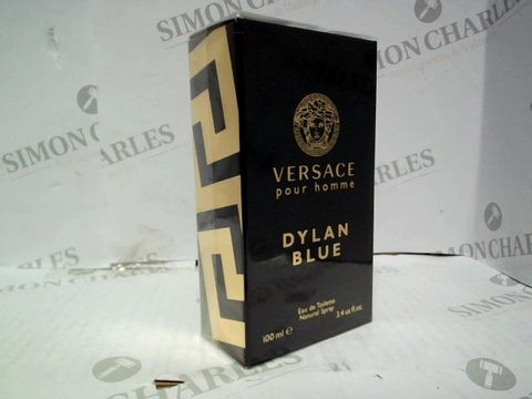 Lot 1239 BRAND NEW AND SEALED VERSACE DYLAN BLUE EDT 100ML