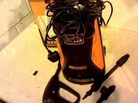Lot 12174 BLACK & DECKER PW 1300 TD 1300W PRESSURE WASHER
