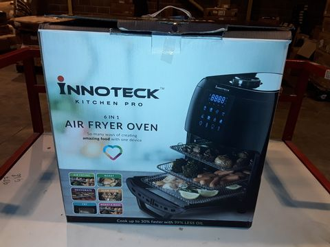 Lot 3282 BOXED INNOTECK KITCH PRO 1800W 12 LITRE AIR FRYER