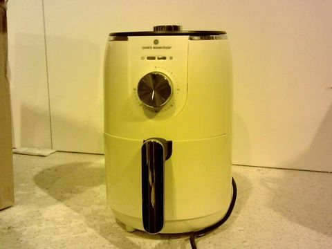 Lot 15342 COOKS ESSENTIALS 1.8L COMPACT AIR FRYER CREAM