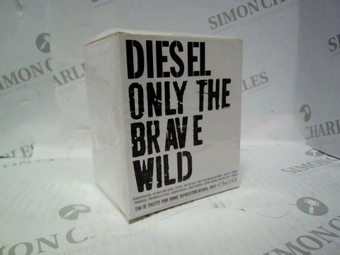 Lot 3000 BRAND NEW AND SEALED DIESEL ONLY THE BRAVE WILD EDT 75ML
