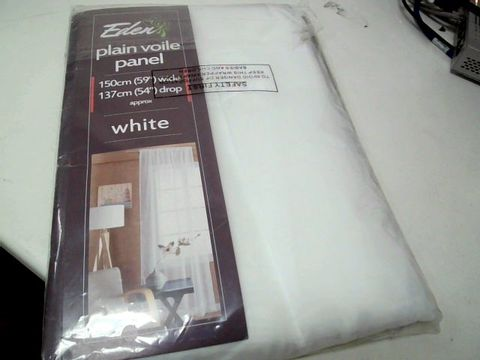 Lot 307 VOILE SWAG CURTAIN PANEL RRP £24.99