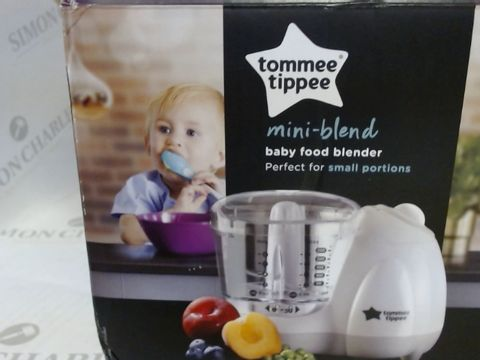 Lot 17167 TOMMEE TIPPEE MINI BLEND BABY FOOD PROCESSOR