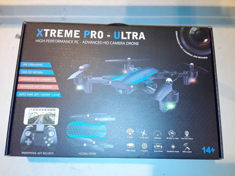 Lot 3093 XTREME PRO-ULTRA HIGH PERFORMANCE HD CAMERA DRONE