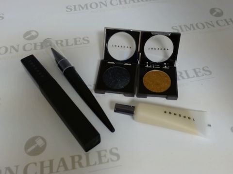 Lot 9445 BOX OF APPROXIMATELY 110 ASSORTED BRAND NEW MAKE UP ITEMS TO INCLUDE KEYBOARD MASCARA, LUCKY KAJAL EYELINER, BANDSTAND EYESHADOW, ETC