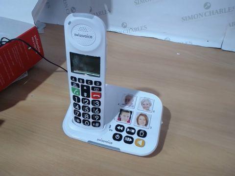 Lot 3086 SWISSVOICE XTRA 2155 AMPLIFIED TELEPHONE COMBO W/ ANSWERING MACHINE