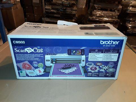 Lot 3015 BROTHER SCAN N CUT CM900 MACHINE