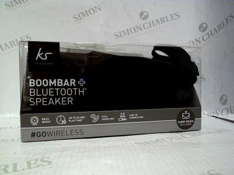 Lot 805 KIT SOUND BOOMBAR + BLUETOOTH SPEAKER IN BLACK
