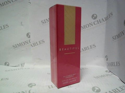 Lot 3003 BRAND NEW AND SEALED ESTEE LAUDER BEAUTIFUL EDP 100ML