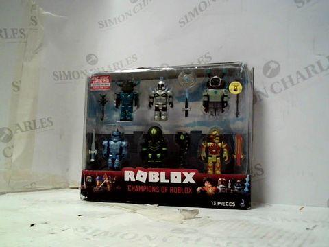Lot 6047 ROBLOX CHAMPIONS OF ROBLOX FIGURE SET