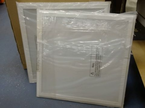 Lot 598 LOT OF 2 LAY IN 43W LED PANEL LIGHTS