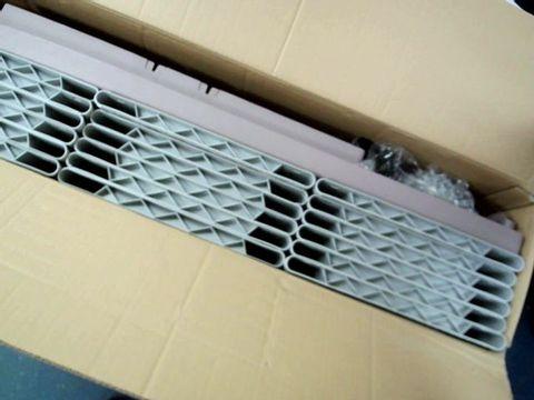 Lot 13400 TERRY RATTAN EFFECT PLASTIC STORAGE BOX