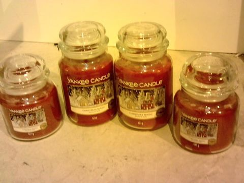 Lot 11059 YANKEE CANDLE ULTIMATE COLLECTION - CHRISTMAS MAGIC