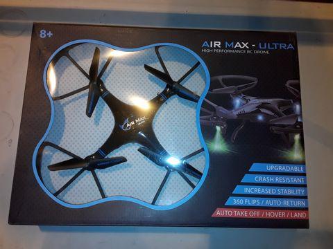 Lot 3091 AIR MAX ULTRA HIGH PERFORMANCE RC DRONE