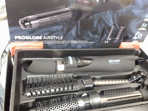 Lot 1078 REVAMP PRO GLOSS AIR STYLE DR1200 PROFESSIONAL STYLER RRP £75.00