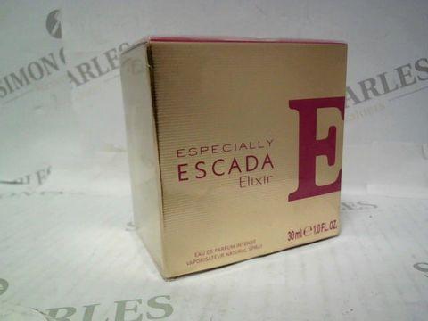 Lot 3078 BRAND NEW AND SEALED ESPECIALLY ESCADA ELIXIR EDP INTENSE 30ML