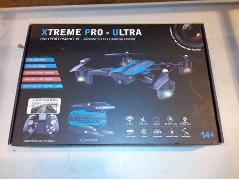 Lot 3248 XTREME PRO-ULTRA HIGH PERFORMANCE HD CAMERA DRONE