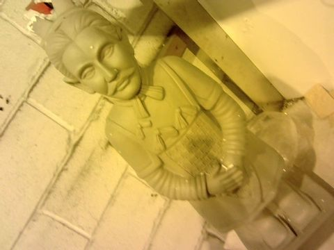 Lot 12050 HOME2GARDEN CHINESE WARRIOR ORNAMENT