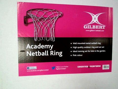 Lot 7569 GILBERT ACADEMY NETBALL RING
