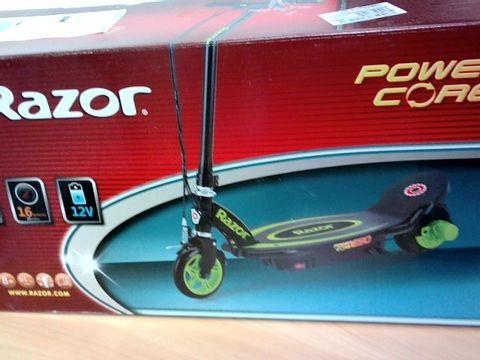 Lot 434 BOXED RAZOR POWERCORE E90 GREEN SCOOTER RRP £250.00