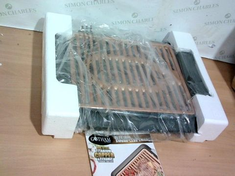 Lot 3332 GOTHAM STEEL COPPER NON-STICK ELECTRIC INDOOR GRILL