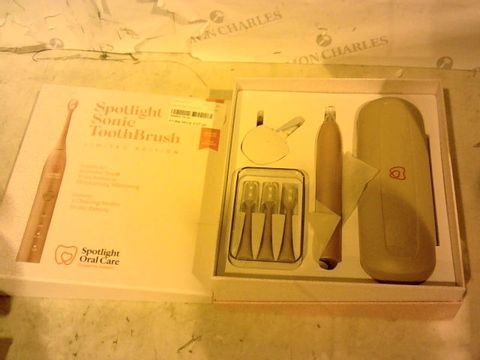 Lot 11254 SPOTLIGHT SONIC TOOTHBRUSH