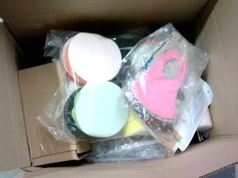 Lot 2329 BOX OF LARGE QUANTITY OF ASSORTED HOUSEHOLD ITEMS