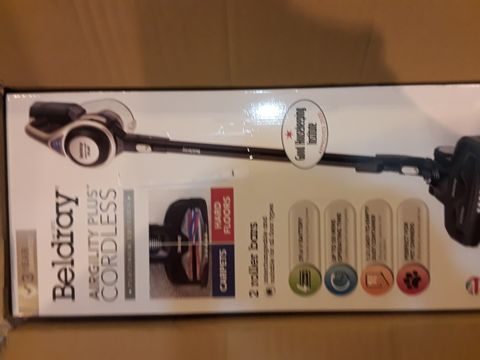 Lot 8063 BELDRAY AIRGILITY + CORDLESS VACUUM CLEANER