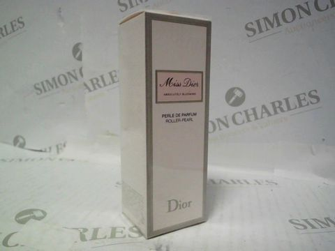 Lot 3010 BRAND NEW AND SEALED MISS DIOR ABSOLUTELY BLOOMING ROLLER PEAL PARFUM 20ML