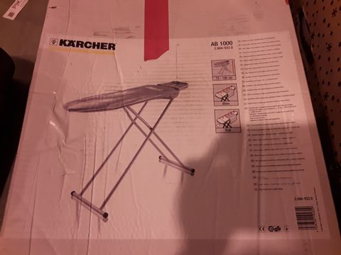 Lot 5264 BOXED KARCHER AB100 IRONING BOARD
