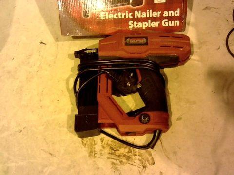 Lot 12388 LUMBERJACK NS18G ELECTRIC NAIL GUN STAPLER TACKER