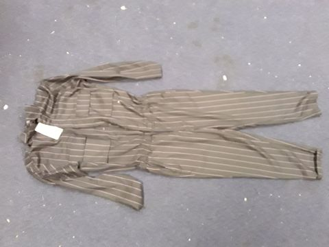 Lot 13049 BERSHKA PINSTRIPE JUMPSUIT