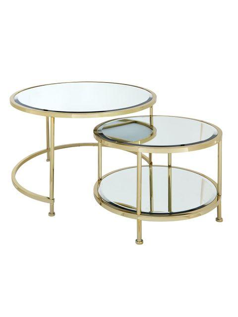 Lot 1054 ARUBA NEST COFFEE TABLE  RRP £259.99